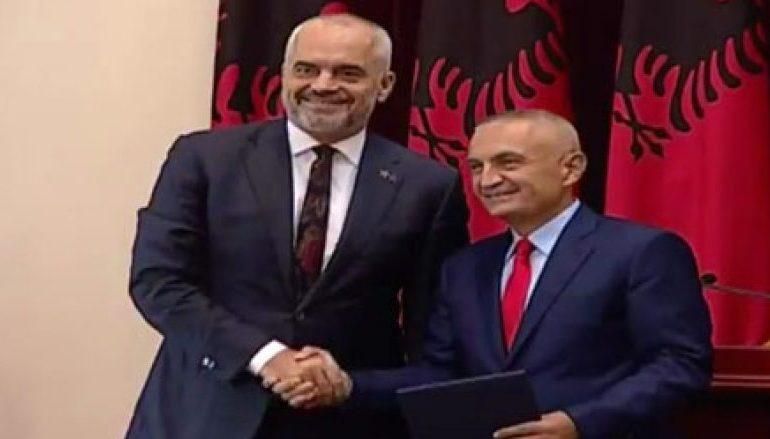 """""""KOMANDANTI U DORËZUA""""/ Meta dekreton Ramën për ministër të Jashtëm"""