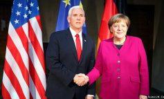 ATA E SHOHIN BOTËN NDRYSHE/ Merkel dhe Mike Pence - dy botë përplasen