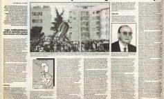 20 SHKURT 1991/ Rrëzimi i bustit të diktatorit në mediat holandeze të kohës (FOTO)