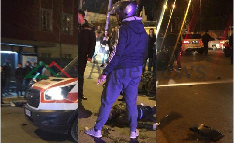 """AKSIDENT I FRIKSHËM NË TIRANË/ """"Fuoristrada"""" merr përpara të MOSHUARIN. Ndodhet në… (FOTO)"""