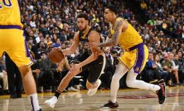 """NBA/ Golden State mposht Lakers dhe dominon në Perëndim, Harden """"zotëria 30 pikësh"""""""
