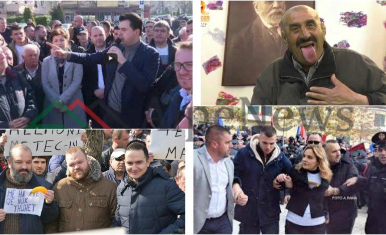 """""""PROTESTA E 16 SHKURTIT""""/ Kur Basha dhe Monika besojnë se """"VER LLAPA"""" dhe Ilir Vrenozi do ta rrëzojnë Ramën (VIDEO)"""