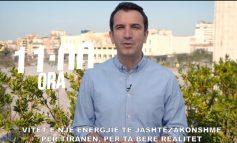 VIDEOMESAZHI/ Veliaj fton qytetarët: Ejani të shtunën në shesh, ta bëjmë realitet Tiranën e ëndrrave