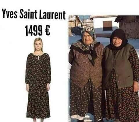 FUSTANI 1500€/ Kush e veshi më bukur, modelja e YSL apo…nonat? (FOTO)