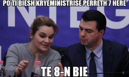 FOTOLAJM/ Opozita me MOTO të re: Po ti biesh Kryeministrisë përreth 7 herë...