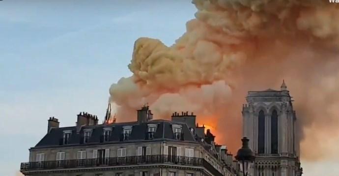 DIGJET KATEDRALJA NË PARIS/ Reagon presidenti francez: Jam i trishtuar