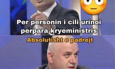"""""""E PABESUESHME""""/ Artan Hoxha i bën """"ekspertizën"""" edhe urinës që... (FOTO)"""