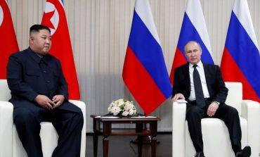 """""""TAKIM I MIRË PËR TË ÇUAR PËRPARA...""""/ Kim Jong-un dhe Putin zotohen për lidhje më të ngushta"""