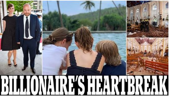 KISHIN SHKUAR PËR.../ Mes 290 të vdekurve në Sri Lanka edhe 3 fëmijët e njeriut më të pasur të Danimarkës