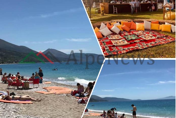 E DIELA ME DIELL/ Në Borsh hapet sezoni turistik. Të rinjtë nisin plazhin dhe… (PAMJET)