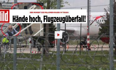 """GRABITJA NË RINAS/ Gjermania """"Bild"""": Duart lart! Avioni po grabitet!"""