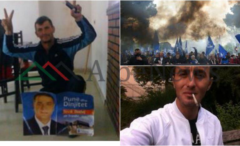 """""""SIMPATIZANTI I FLAKTË I PD-së""""/ Kush është i """"FORTI"""" nga Tropoja, që u """"ARRESTUA"""" në protestë (EMRI+FOTO)"""