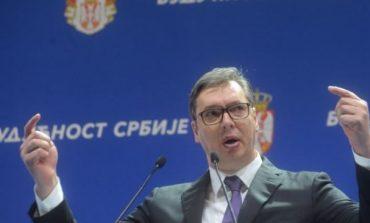 MARSHIMET ANTIQEVERITARE/ Vuçiç: Do ta mbroj popullin serb në Kosovë