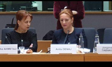 VIZITË NË BRUKSEL/ Ministrja Denaj: Reformat ekonomike kanë përmisuar...