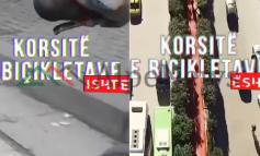 KRAHASIMI/ Post of the day. Kryeministri Rama: Si ishin dhe si janë korsitë e biçikletave në Tiranë