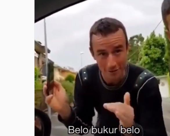 DO QESHNI ME LOT/ Video e dy shqiptarëve në Itali po bën xhiron e rrjetit: Ne albanezo…
