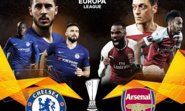SKUADRAT ANGLEZE SHKRUJANË HISTORINË/ Arsenal dhe Chelsea në finalen e Europa League