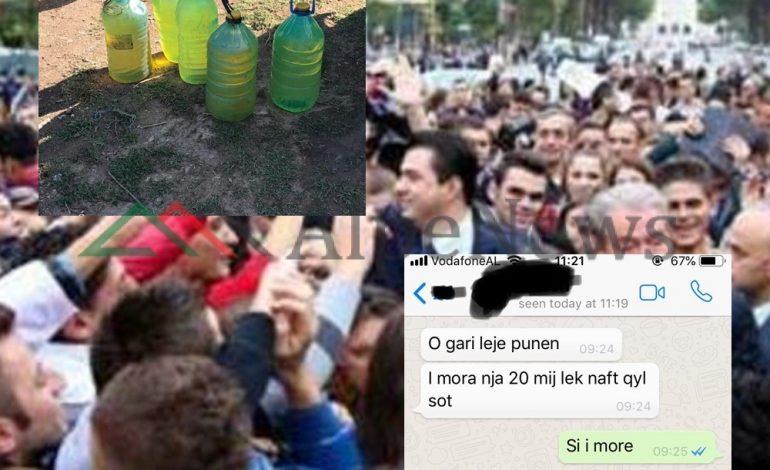 """""""ZBARDHEN MESAZHET""""/ Skandali i PD dhe LSI si shisnin TOLLONA nafte, që të vijnë njerëz në… (FOTO)"""