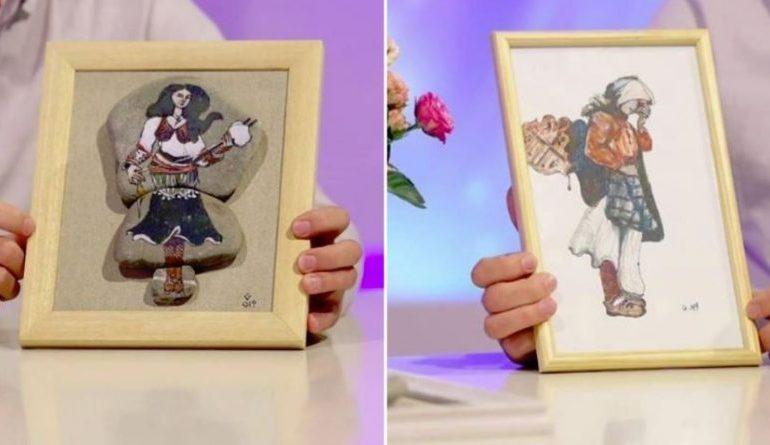 MBI 500 PUNIME/ Njihuni me të riun që pikturon mbi gurë  (VIDEO)