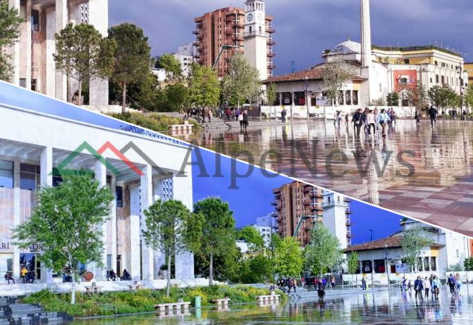"""""""PHOTO OF THE DAY""""/ Kur shiu """"pushton"""" sheshin """"Skënderbej"""" e përsëri duket si pikturë (PAMJET)"""