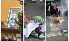 PROTESTË E STUDENTËVE APO OPOZITARE/ Tymuese, gur dhe FLAKADANË a janë këta që e duan arsimin (FOTO)