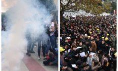 SHËNIM/ Dhuna si diferenca mes protestës së studentëve dhe protestës së militiantëve (FOTO)