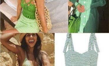 KRYEFJALA E KËSAJ VERE/ Printi jeshil me kuadrata janë GJITHÇKA duhet të keni në garderobë (FOTO)