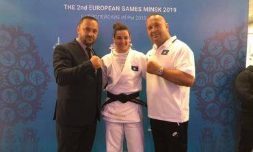 """ARRITI FITOREN NË """"MINSK 2019"""" Trajneri i xhudos: Kuka e bronztë! Emocion i jashtëzakonshëm..."""