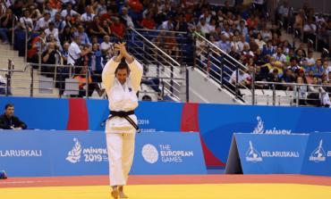 """TJETËR SUKSES PËR KOSOVËN NË """"MINSK 2019""""/ Loriana Kuka fiton medaljen e bronztë në Lojërat Europiane"""