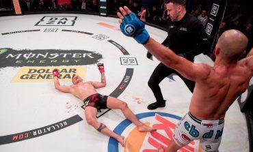 """SPEKTAKOLARE NË """"MMA""""/ """"Knock-out"""" si ky ia vlen të shikohet disa herë (VIDEO)"""