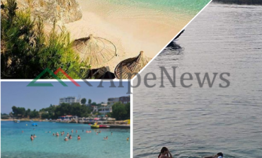 FLUKSI I PUSHUESVE/ Pamjet nga fundjava relaksuese në plazhin e Ksamilit