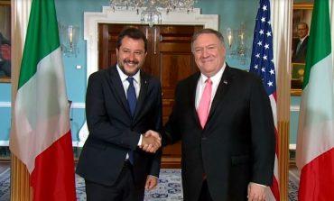 """""""NGJAJ ME TRUMP""""/ Salvini: Italia, partner i parë i SHBA-ve"""