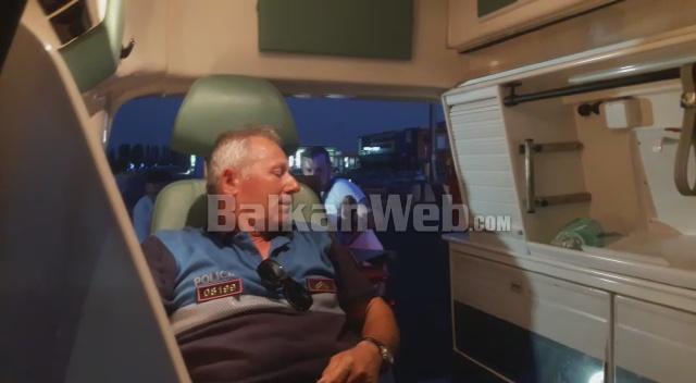 PËRPLASJA NË SHKODËR/ Pamje të rënda në KZAZ-në Bushat, polici i plagosur në barelë