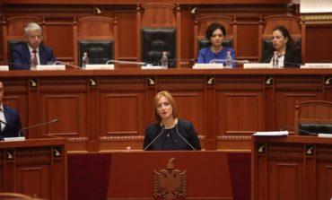 """PAKETA MONEYVAL""/ Ministrja Denaj e prezanton në Parlament"