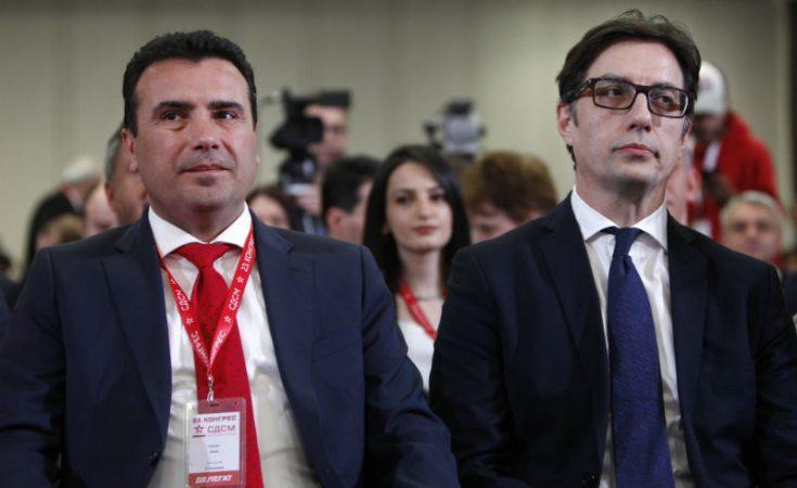NEGOCIATAT/  Panderovski dhe Zaev takime me zyrtarë të BE