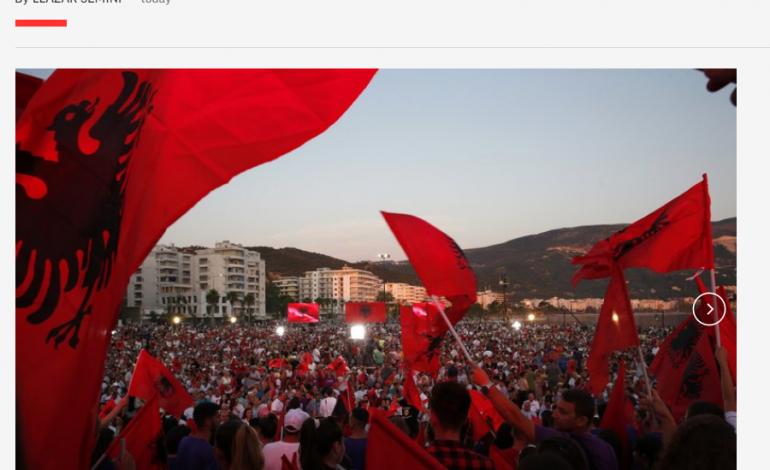 """30 QERSHORI/ """"Accociated Press"""": Meta mbështetës i opozitës, zgjedhjet """"thembra e Akilit""""…."""