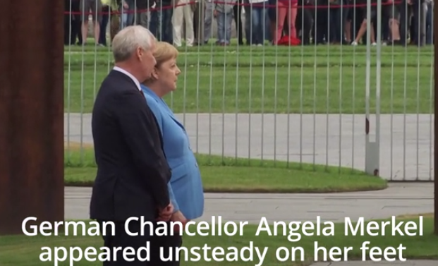 HERA E TRETË QË U DRODH/ Merkel: Asnjë shqetësim, jam në formë…  (VIDEO)