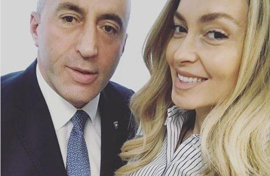 """""""ME KOKËN LART…""""/ Kunata e Haradinajt me fjalë prekëse për Kryeministrin pas dorëheqjes"""