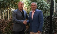 """ILIR META I """"JEP"""" ZEMËR RAMUSH HARADINAJ/ Presidenti shkon në Kosovë me... (FOTOT)"""