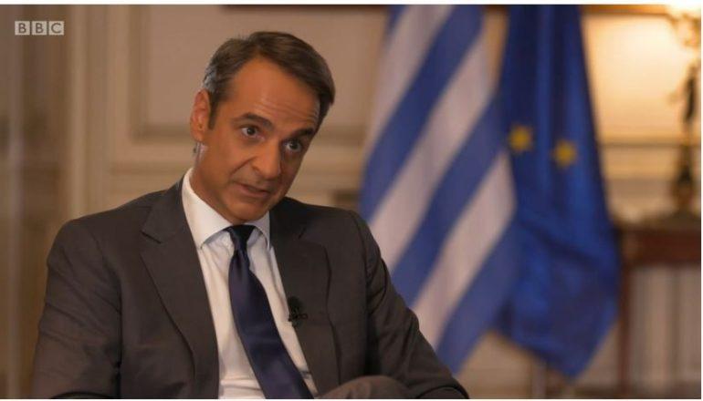 """INTERVISTA E PARË SI KRYEMINISTËR/ Mitsotakis """"imiton"""" Edi Ramën: Nuk kam shkop magjik!"""