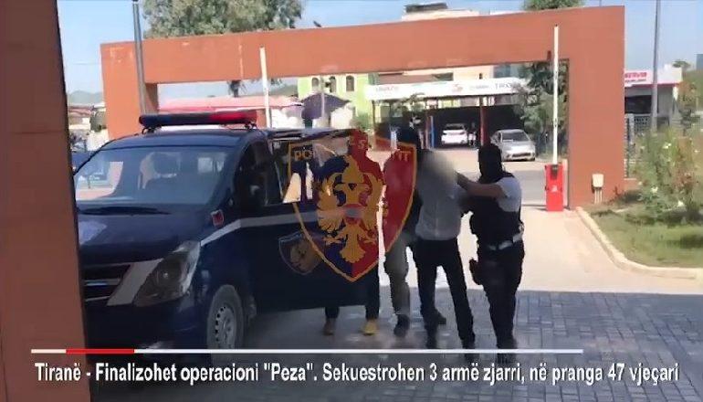 E FUNDIT/ Kallash, pushkë , pistoletë e 308 fishekë, arrestohet 47-vjeçari në Pezë