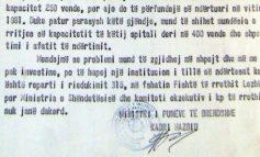 SHIFRA TË FRIKSHME E TË SËMURËVE MENDORË NË 1987!/ Letra e ministrisë së Brendshme: S'ka më vende në psikiatri