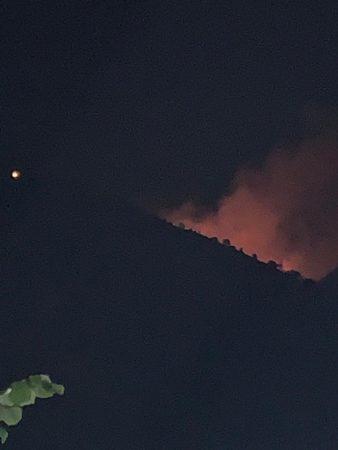 ZJARR I MADH NË BORSH/ E pamundur ndërhyrja e zjarrfikëseve… (VIDEO)