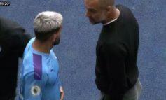 E BUJSHME/ Pep Guardiola dhe Kun Aguero debatojnë ashpër midis tyre, gjithçka u kap nga kamerat e stadiumit (VIDEO)