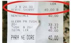 FOTOLAJM/ Ja sa kushton bërja e shu**ës në Shqipëri!