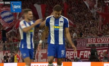 """SHTANGEN BAVAREZËT""/ Hertha Berlin shënon dy gola brenda 120 sekondash, ja golat (VIDEO)"