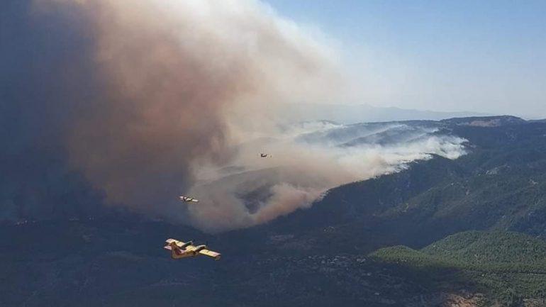 PAMJET/ Gjithçka mes flakës e tymit, aeroplanët e BE drejt Greqisë
