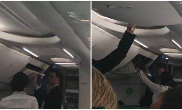 """DUKE RREGULLUAR VALIXHEN PËR PUSHIME/  Basha """"KAPET MAT"""" në avionin e Amsterdamit (FOTO)"""