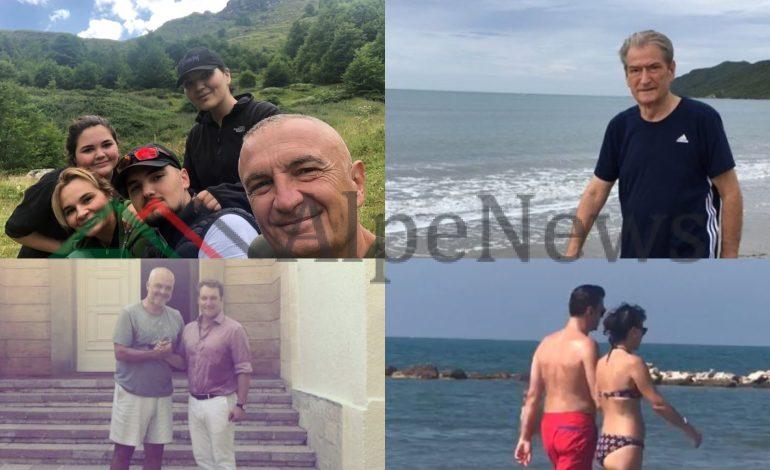 """""""PRESIONI"""" I RRJETIT? Si po i """"ZHDUKIN"""" fotot e pushimeve politikanët shqiptarë"""