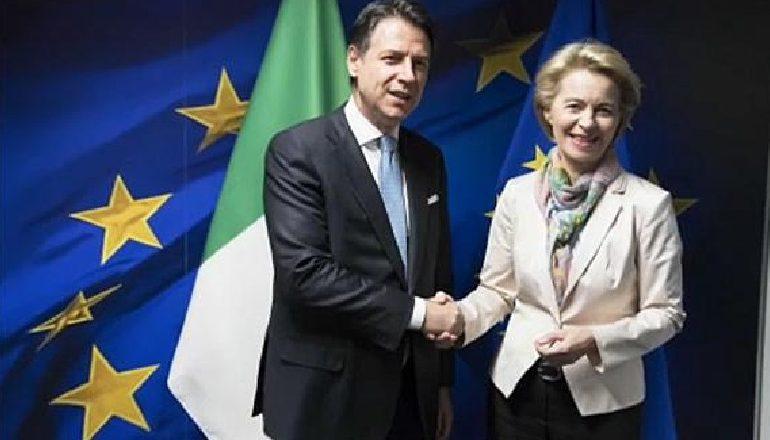 QEVERIA E RE/ Kryeministri italian Giuseppe Conte në Bruksel: Duam një pakt të ri me Evropën